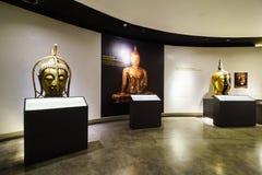 BANGKOK, THAÏLANDE - 18 DÉCEMBRE : Le Bouddha d'or, Phra Bouddha Maha Photos libres de droits