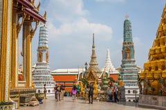 Bangkok, Thaïlande, décembre 13,2013 : Palais grand royal à Bangkok, Photographie stock