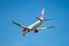 BANGKOK, THAÏLANDE - 1ER JUIN 2015 : HS-LTK Lion Air Boeing thaïlandais 73 Images libres de droits