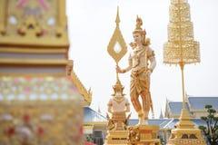 Bangkok, Thaïlande - 1er novembre 2017 : Le crématorium royal du roi Photographie stock libre de droits
