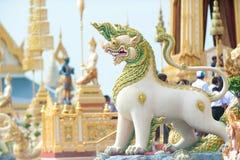 Bangkok, Thaïlande - 1er novembre 2017 : Le crématorium royal du roi Photographie stock