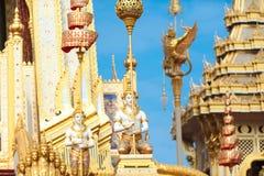 Bangkok, Thaïlande - 1er novembre 2017 : Le crématorium royal du roi Photos libres de droits