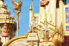 Bangkok, Thaïlande - 1er novembre 2017 : Le crématorium royal du roi Image stock