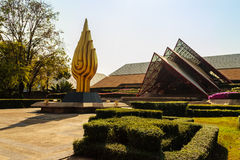 Bangkok, Thaïlande - 20 février 2017 : Belle architecture de Images stock