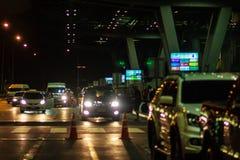 Bangkok, Thaïlande - 21 février 2017 : Le touriste a été atteint le Su Photos stock