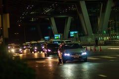 Bangkok, Thaïlande - 21 février 2017 : Le touriste a été atteint le Su Images stock