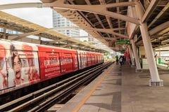 Bangkok, Thaïlande - 24 février 2017 : Passagers et pour le Ba Photos stock