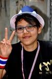 Bangkok, Thaïlande : L'opération a arrêté le protestateur de Bangkok Photos stock