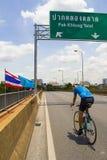 """Bangkok, Thaïlande, le 16 août - 2015 : """"Bike pour que l'ensemble historique d'événement de  de Mom†commence à noter le reco Photo stock"""