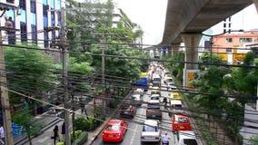 Bangkok, Thaïlande le 31 juillet 2014 Jour du trafic à banque de vidéos
