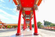 BANGKOK, THAÏLANDE, le 23 novembre 2016 †«le temple chinois Image libre de droits