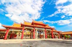 BANGKOK, THAÏLANDE, le 23 novembre 2016 †«le temple chinois Images stock