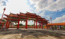 BANGKOK, THAÏLANDE, le 23 novembre 2016 †«le temple chinois Images libres de droits
