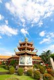 BANGKOK, THAÏLANDE, le 23 novembre 2016 †«le temple chinois Image stock