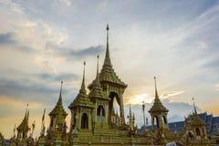 Bangkok, Thaïlande : Le 29 novembre 2017, le crématorium royal pour S.M. King Bhumibol Adulyadej chez Sanum Luang Photo stock