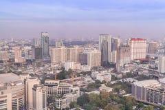 Bangkok, Thaïlande - 13 mars 2017 : Horizon de Bangkok avec la ville Images libres de droits