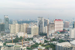 Bangkok, Thaïlande - 13 mars 2017 : Horizon de Bangkok avec la ville Images stock