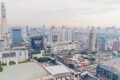 Bangkok, Thaïlande - 13 mars 2017 : Horizon de Bangkok avec la ville Photographie stock libre de droits