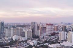 Bangkok, Thaïlande - 13 mars 2017 : Horizon de Bangkok avec la ville Photographie stock