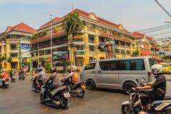Bangkok, Thaïlande - 2 mars 2017 : Vieux Siam Shopping Plaza, photos stock