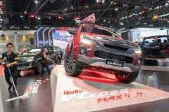 Bangkok, Thaïlande - 30 novembre 2018 : Salon automobile d'ISUZU D-MAX à photo stock