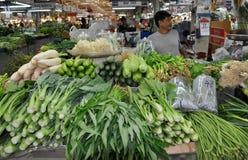 Bangkok, Thaïlande : Produit au marché Hall photographie stock