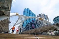 Bangkok Thaïlande : Promenade de ciel Photo stock