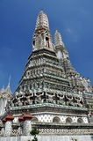 Bangkok, Thaïlande : Wat Arun, temple d'aube Photo stock