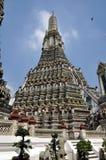 Bangkok, Thaïlande : Wat Arun, temple d'aube Images libres de droits