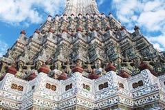 Bangkok thailan Wat Arun Giant Royalty-vrije Stock Afbeelding