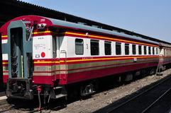 Bangkok, Thailand: 1st Class Railway Carriages Royalty Free Stock Image