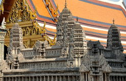 Bangkok, Thailand: Angkor Wat at Grand Palace Royalty Free Stock Photography