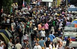 Bangkok, Thailand: Anti-Government Protestors Royalty Free Stock Image