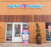 Bangkok, Thailand - April 21, 2016: Baskin Robbins, known for it Royalty Free Stock Image