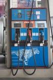 Bangkok, Thailand, 27,2018 April, Brandstofpomp of pijpen in gas of oi royalty-vrije stock foto