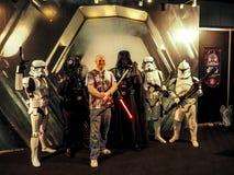 BANGKOK, THAILAND - APRIL 23, 2017: Fictional characters of Star Wars appeared in Thailand Comic Con 2017 in ROYAL PARAGON HALL,. Bangkok Thailand stock photos