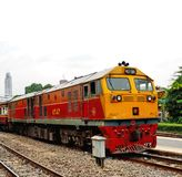 General Electric Diesel locomotive 4547 royalty free stock photo