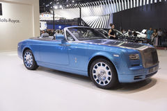 BANGKOK,THAILAND - APRIL 4 :New Classical car brand Rolls-Royce Stock Photo