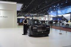 BANGKOK,THAILAND - APRIL 4 :New Classical car brand Rolls-Royce Royalty Free Stock Photos