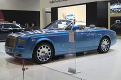 BANGKOK,THAILAND - APRIL 4 :New Classical car brand Rolls-Royce Stock Images