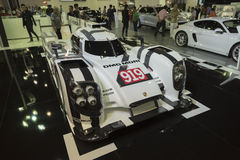BANGKOK,THAILAND - APRIL 4 : porsche racing car show on April 4, Royalty Free Stock Photography
