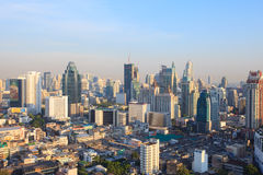 BANGKOK THAILAND -APRIL21  : top view bangkok capital of thailan Stock Photos