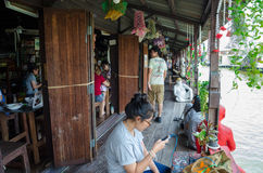Bangkok, Thailand : Artist house community Royalty Free Stock Photos