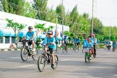 Free Bangkok,THAILAND, AUG 16-2015 : Bike For Mom Royalty Free Stock Photo - 58652935