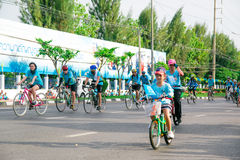 Bangkok,THAILAND, AUG 16-2015 : Bike for mom Stock Images