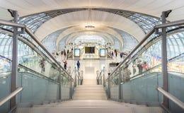 Bangkok Thailand - 27 August 2016, Departures terminal in Suvarn Stock Photo