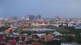 Bangkok, Thailand - 12. August: Der großartige Palast und Wat Phra Kaew stock footage