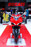 BANGKOK THAILAND - AUGUST 23 2014: Ducati Motorcycle is on display at Big Motor Sale, Bitec Bangna, Bangkok Thailand. Stock Images
