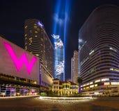 Bangkok, Thailand - August 29, 2016 : Mahanakorn Building Grand royalty free stock image