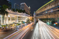 BANGKOK, THAILAND - August 20: Ratchaprasong, world-class shoppi Royalty Free Stock Photography